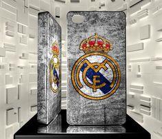 Coque Iphone 4 4S Logo Football Club Real Madrid Cf 01