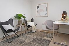 Shift Property Styling have done a superb job of styling this study with the Kmart casual chair