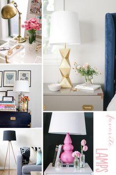 Michaela Noelle Designs: Light It Up: Favorite Lamps