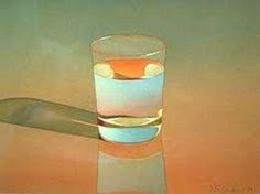 """Mark Adams - Glass of Water 1979 - Watercolor on paper - 11.875 x 15.25"""""""