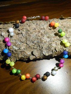 Neu Polariskette Regenbogen Halskette Collier Polaris Kette perlenkette 10mm in Uhren & Schmuck, Modeschmuck, Halsketten & Anhänger | eBay