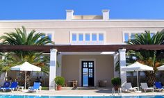 """The luxury traditional-style residences """"Nissia"""", is a boutique hotel located on the sea front, five hundred meters from the center of Spetses, Dapia. Days Hotel, A Boutique, Greece, Cruise, Hotels, Traditional, Mansions, Luxury, House Styles"""