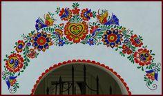 Czech Folk art - architecture (Lidová architektura | Lidová umění | Folklorní kaleidoskop - jižní morava)