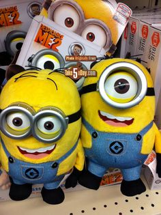 despicable me 2 toys | Despicable Me 2 Minion Toys Arriving | Take Five a Day