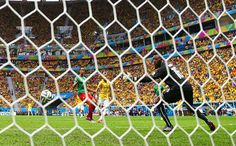Gol de Neymar vs Ghana #Brasil2014
