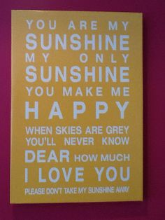Sunshine - talking-interiors custom canvas