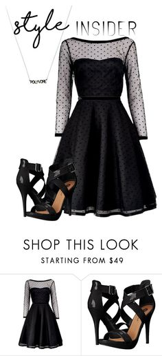 """black and black"" by girl-meets-boy-559 ❤ liked on Polyvore featuring Marc by Marc Jacobs, Michael Antonio, contestentry and styleinsider"