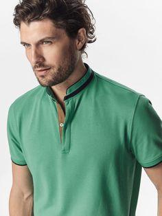Men's Casual Polo Shirts | Massimo Dutti Spring Summer 2017