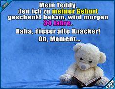 Ich muss da kurz was nachrechnen o.o #Statussprüche #erwachsen #Kuscheltier #Humor #lustige #Sprüche #Statusbilder