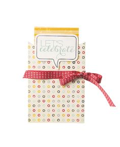 Turn your A Little Sumthin' Sumthin' pillow box into a cute card and envelope.