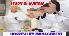 Study Hospitality Management in Austria!!!  For abroad studies get in touch with Riya Education. #studyabroad