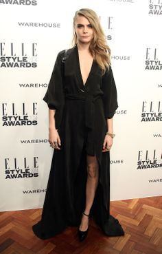 Cara Delevingne attends the Elle Style Awards 2014