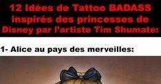 12 tatouages MAGNIFIQUES inspirés des princesses de Disney