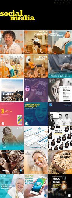 Direção de arte e criação de postagens para a fã page de diversos clientes.