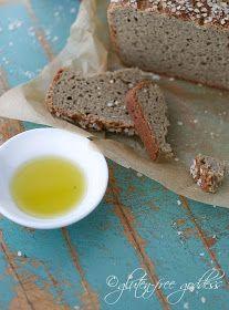 Whole grain gluten-free bread