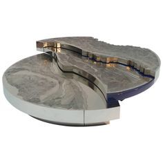Spectacular Coffee Table by Armand Jonckers, 2015 | From a unique collection of antique and modern coffee and cocktail tables at https://www.1stdibs.com/furniture/tables/coffee-tables-cocktail-tables/