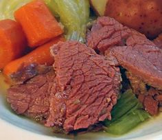 RECIPE for Irish Corned Beef with Vegetables