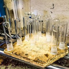 Visiting our glass blowers!  in KING's Pipe Instagram. They look like joint parts!  KING's Pipe Online HeadShop!  kings-pipe.com #420