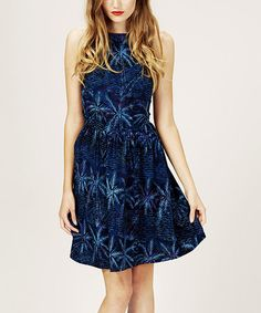 Take a look at this Blue & Aqua Tropical Seas Dress by Sugarhill Boutique ... another cute option for bridesmaid dress