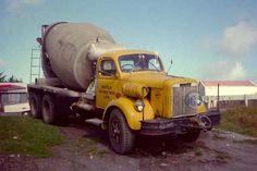 American cement mixer