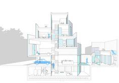 Mies Van der Rohe Prize nominated. Casa 20 in Spain. Architecture Arquitectura Fachada policarbonato luces textura texture