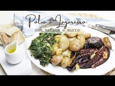 Clara de Sousa - YouTube Food And Drink, Fish, Chicken, Meat, Youtube, Octopus Recipes, Cod, Potatoes, Cook