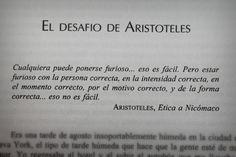 El desafio de Aristóteles. #Quote