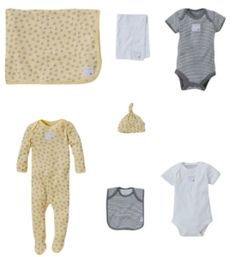 HUGE price cuts on organic Burt's Bees Baby clothing basics and layettes! Available in several sizes and colors!!