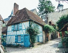 Gerberoy, France!  When most people think France, they immediately think Paris, and often times it is unfortunately the only city they visit. Here are 9 of the most charming towns in France!