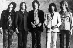 The Rolling Stones photographed circa 1970.