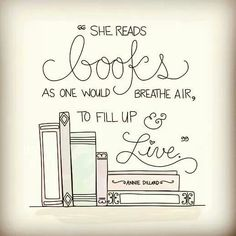 I have an obsession with books!