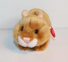 TRUDI HAMSTER stehend braun Plüschtier Kuscheltier Stofftier neuwertig unbespiel | eBay