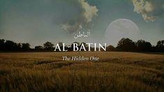 Al-Batin The Hidden One Urdu Words, Arabic Words, Islamic Images, Islamic Quotes, Islamic Art, Islamic Center, Beautiful Names Of Allah, Allah Names, Say Word