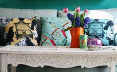 Van Asch cushions by Janice Issitt