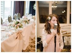 Joseph Smith Memorial Building wedding reception details by Brooke Bakken Photography