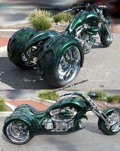 Three Wheel Motorcycles, Cool Motorcycles, Vintage Motorcycles, Vw Trike, Trike Motorcycle, Motorcycle Store, Custom Trikes, Custom Choppers, Harley Davidson Trike