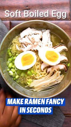 Soup Recipes, Dinner Recipes, Cooking Recipes, Quick Meals, No Cook Meals, Cocina Light, Asian Recipes, Healthy Recipes, Good Food