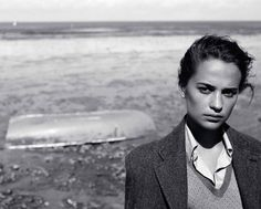 British Vogue Aug 2016 alicia vikander #aliciavikander #muse #blackandwhite #styleicon