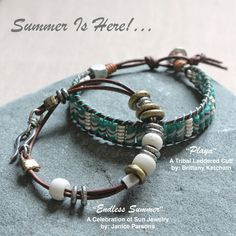"""The Bead Table: """"Playa"""" Bracelet Instructions & Sneak Preview of our upcoming Summer Series!"""