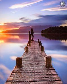 Lake Tarawera, New Zealand by @ig.newzealand • 821 likes
