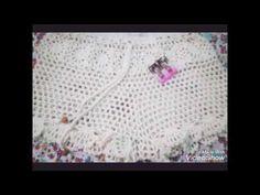 COMO fazer Short de crochê com metragem de P,M passo a passo - YouTube Crochet Shorts, Crochet Lace, Crochet Bikini, Lace Shorts, Crochet Dresses, Como Fazer Short, Short Tejidos, Parte Superior Del Bikini, Crochet Videos