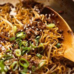 Thai Prawn, Mango and Avocado Noodle Salad | RecipeTin Eats Recipetin Eats, Asian Beef, Beef And Noodles, Drunken Noodles, Asian Noodles, Egg Noodles, Baked Chicken, Baked Pork, Vegetarian Recipes