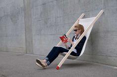 Curt deck chair by Bernhard Burkard | Yellowtrace