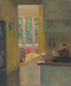 Interior with Pink Ball by Duane Kaiser