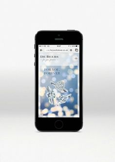 De Beers innovates with ForYouForever.com | The Parisian Eye