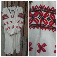 Сорочка з Полтавщини на фабричному полотні