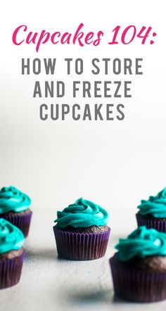 This all-about-cupcakes post is part of my Cooking 101 Series . For more cupcake tutorials, be sure to check out: Cupcakes 101: 10 Tips to Bake the Perfect Cupcake , Cupcakes 102: ...