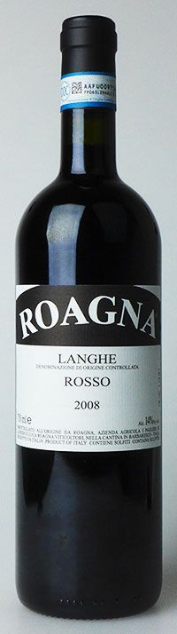 Overachieving Baby Barolo Value: 2008 Roagna Langhe Rosso