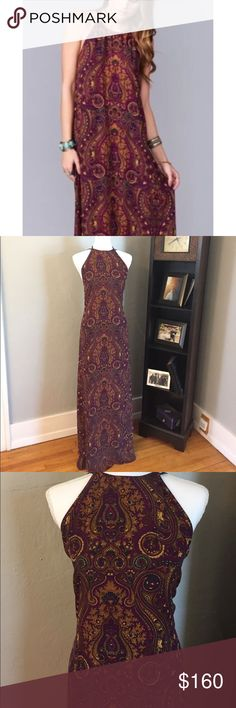 Show me your mumu Paisley print maxi small Maroon maxi show me your mumu Paisley print. Super cute back. Purchased for a wedding but never worn. New with tags.  Length is about 60in from shoulder. Runs true to size. Small will fit a 2-4 dress. Open to reasonable offers Show Me Your MuMu Dresses Maxi