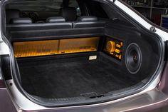 Custom Car Audio, Custom Cars, Custom Car Interior, Car Audio Systems, Car Sounds, Car Trunk, Rims And Tires, Diy Speakers, Ford Fusion